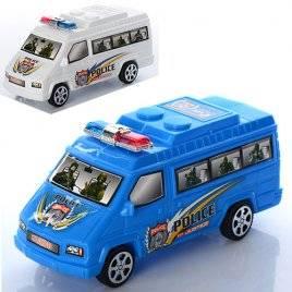 Машинка служебная Полиция инерционная 325-39