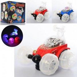 Машинка трюковая музыкальная со светом и звуком DL-327