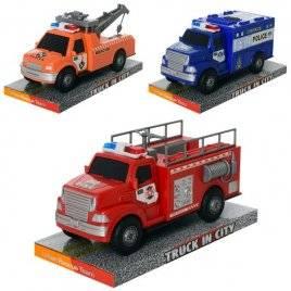 Машинка Эвакуатор, полиция или пожарная 328-41-42-43