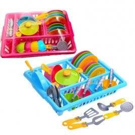 Посудка детская с подставкой-сушкой № 5 3282 Технок