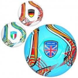 Мяч футбольный размер 5 ПВХ EV 3282