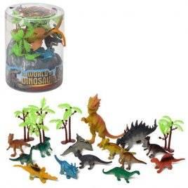 Набор фигурок динозавров в колбе 330-86B