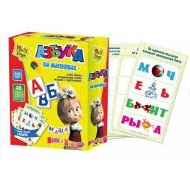 """Магниты  Азбука. Учим буквы с Машей на магнитах. ТМ """"Vladi Toys"""", Украина"""
