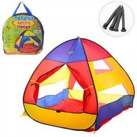 Палатка детская пирамида на колышках M 3306