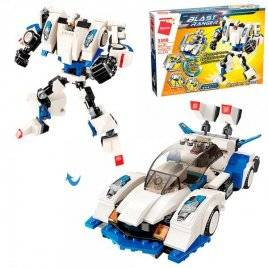 Конструктор трансформер робот+машина 275 деталей 3306 Qman
