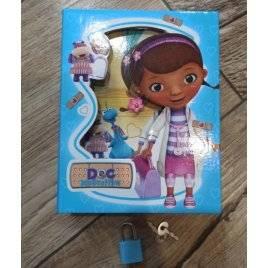 Блокнот Доктор Плюшева в шкатулке с замочком и ключами YH64K-BO0121