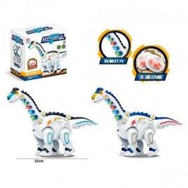 Динозавр со звуком и светом несёт яйца 3356