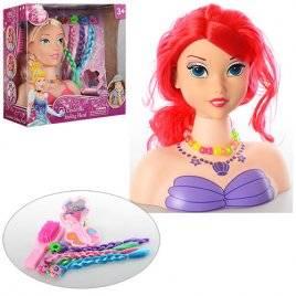 Кукла-голова для моделирования причесок и макияжа 3389-69