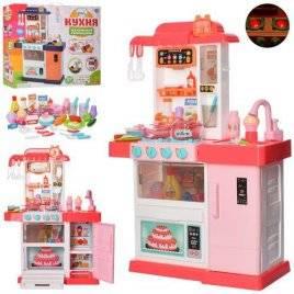 Кухня со звуком и светом+посуда и продукты 37 предметов WD-P34