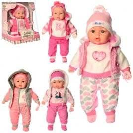 Кукла  в зимней одежде в куртке поет песню и рассказывает стих 3514-1 на украинском языке
