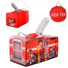 Палатка для детей Щенячий патруль Пожарная машина M 3528 Bambi