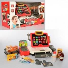 Кассовый аппарат с микрофоном+продукты 35578B