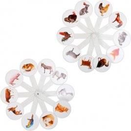 Веер обучающий Домашние животные 3604