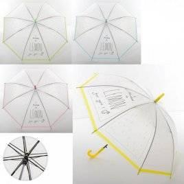 Зонтик детский прозрачный трость MK 3611