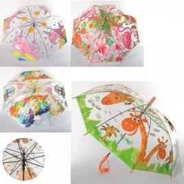 Зонтик детский для девочек MK 3612-1