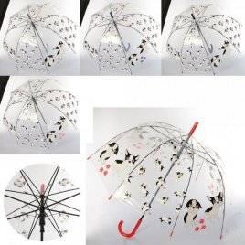 Зонтик детский прозрачный собачки MK 3614-1