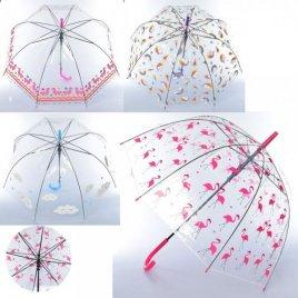 Зонтик детский прозрачный Нежность MK 3621-1