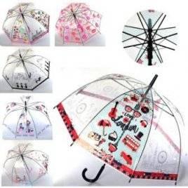 Зонт прозрачный детский микс видов MK 3622-1