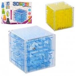 Игра  лабиринт куб 2 вида 3629AB