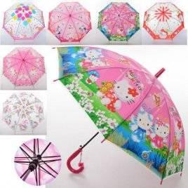 Зонт детский со свистком Hello Kitty MK 3630-5