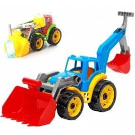 Трактор  с двумя ковшами 3671 Технок