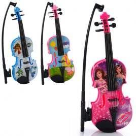 Скрипка детская со струнами 369