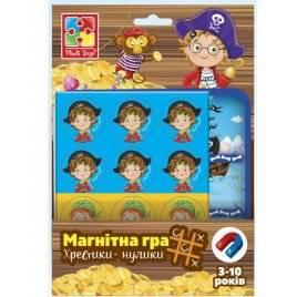 Магнитная игра Пираты. Крестики-нолики VT3703-06