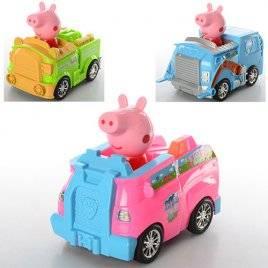 Машинка мультик Свинка Пеппа 372-73-74