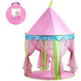 Палатка круглая для девочки Шатер Жасмин 3761