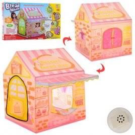 Палатка домик Магазин сладостей с музыкальным освещением 3768