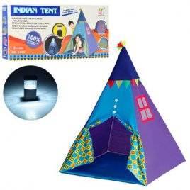 Палатка игровая Вигвам дружбы с фонариком 3769