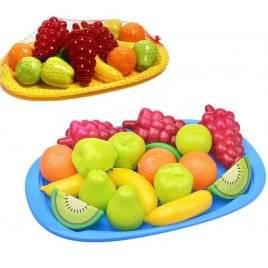 Поднос детский с набором игрушечных фруктов или овощей  Орион, Украина