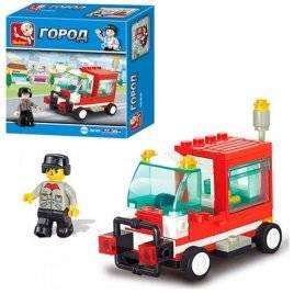 Конструктор пожарная машина M 38-0180 Sluban