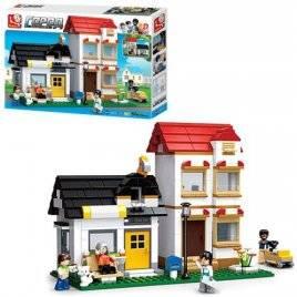Конструктор дом+ газонокосилка SLUBAN 38-0573