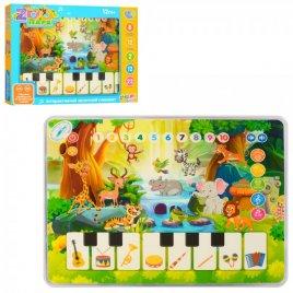 Музыкальная игрушка Планшет Зоопарк 3812
