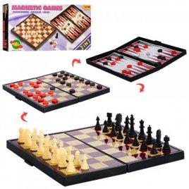Шашки, шахматы, нарды 3 в 1 9831