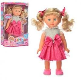 Кукла Даринка на украинском языке музыкальная 32 см 3883-1/2/4163-4161 S UA средняя