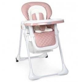 Стульчик для кормления с выдвижным столиком розовый M 3890 Bambi