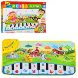 Музыкальный коврик Пианино с животными LT3902