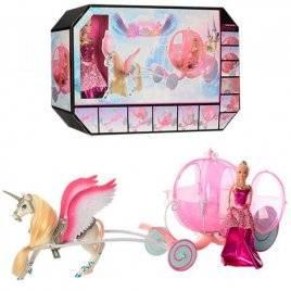 Карета с лошадью + кукла 68019
