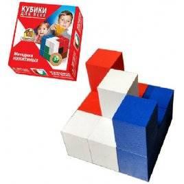 Кубики деревянные для всех по методика Никитина . Сообразилка. К-003