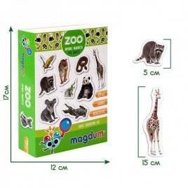 Животные на магните Зоо Magnetic set Zoo photo ML4031-02 Масик