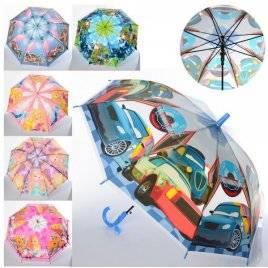 Зонтик детский Машинки и Принцессы Дисней MK 4051