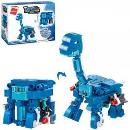 Конструктор куб и динозавр 145 деталей 41204 Qman