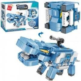 Конструктор куб и бегемот 149 деталей 41205 Qman