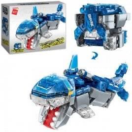 Конструктор куб и акула 148 деталей 41209 Qman