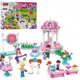 Конструктор для девочек Свадебная арка 468 деталей KB 104 LimoToy