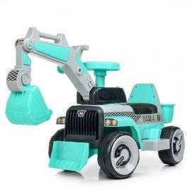 Трактор толокар 2в1 с  музыкой и светом на аккумуляторе M 4144L-4