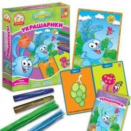 Набор для творчества Украшарики Смешарики Крош или Нюша VT4205-02/4205-01