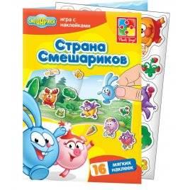 Набор для творчества наклейки «Смешарики» 4206-21 Vladi Toys